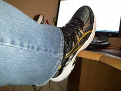Asics - Black and Gold