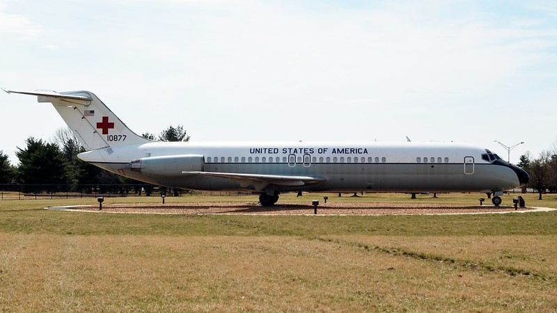 C-9A Nightengale, Side View