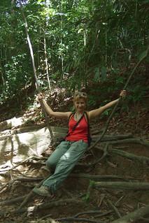 Kate in Taman Negara