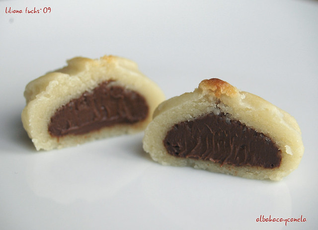 Mazapán de chocolate