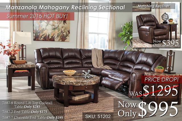 Manzanola Mahogany Sectional Summer_Special