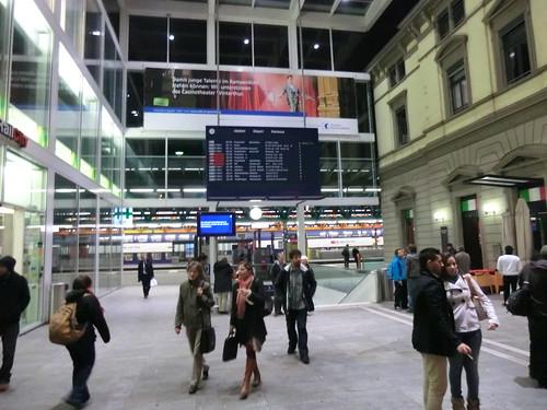 Winterthur station in Switzerland