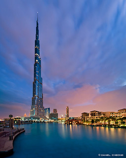 Cloudy Dawn in Dubai