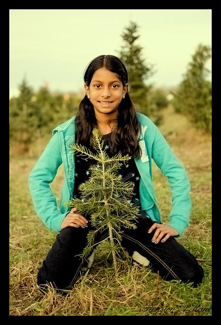 Sarah Tree Hunting