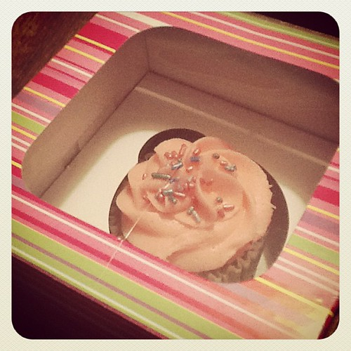 Cupcake c/o Cakelicious