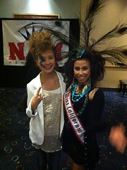 National American Miss California girls at National Rehearsals