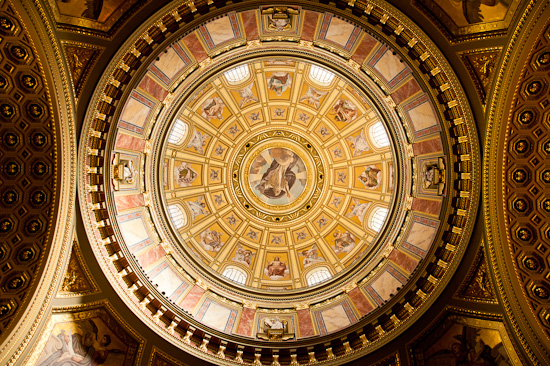 St. Istvan Basilica Dome