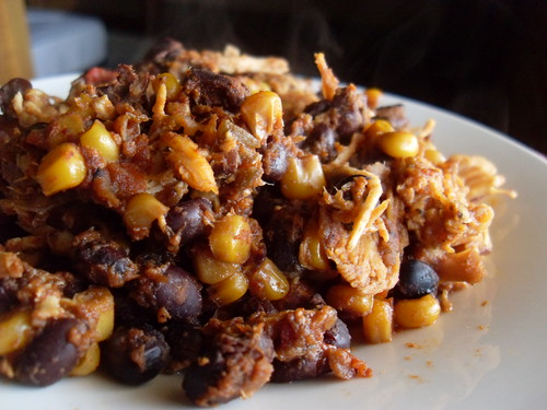 Slow Cooked Taco Chicken