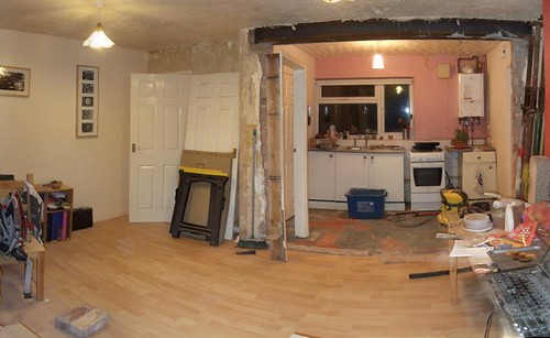 Anyone Removed The Wall Between Kitchen Dining Room