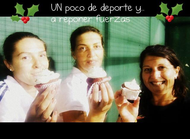 4Comiendo cupcakes