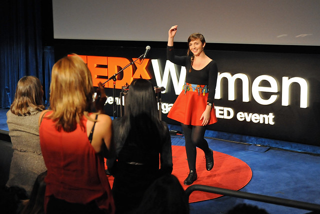 TEDxWomen performer Julia Easterlin