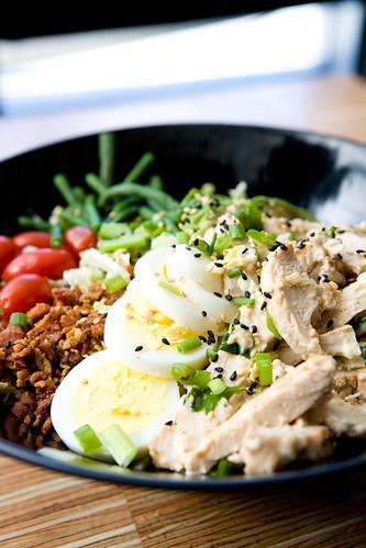 asian cobb salad by TAKE A BAO