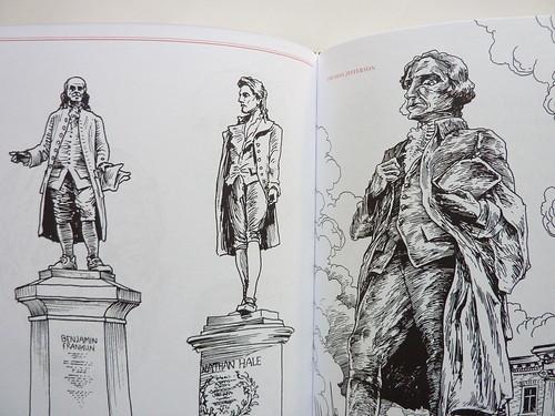 500 Portraits by Tony Millionaire - detail