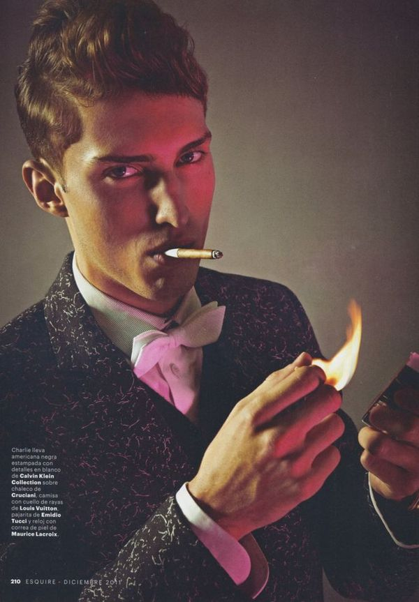 Esquire Spain December 2011_02Charlie France(sight Management)
