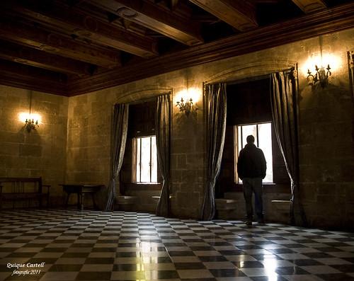 Salón. La Lonja de Valencia by Quique Castell