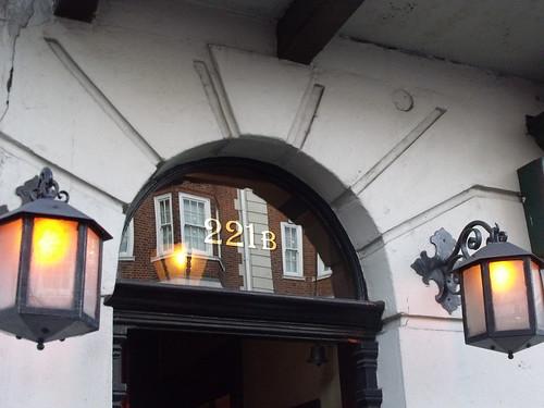 The Sherlock Holmes Museum - 221b Baker Street, London - lanterns