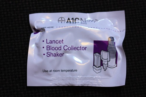 lancet, blood collector and shaker