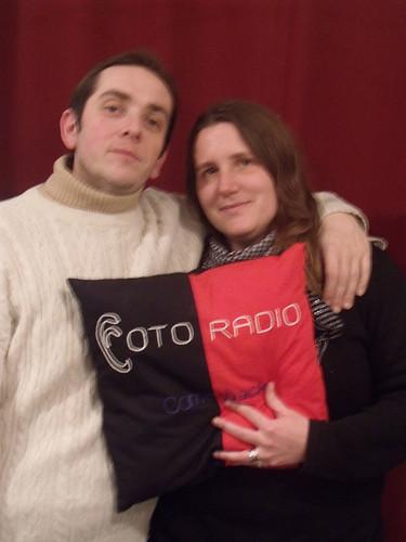 Sandrine Hergi et Renaud