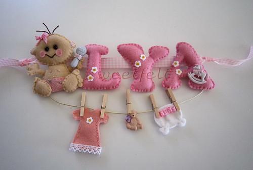 ♥♥♥   Para a  Lya ... by sweetfelt \ ideias em feltro