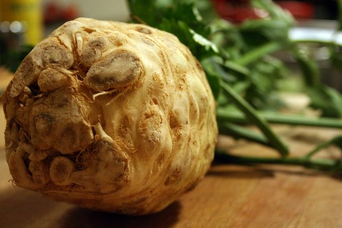 The gnarly celery root