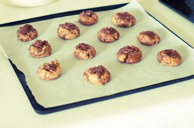 Peanut Nutella Cookies-9