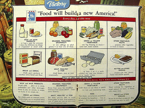 """Food Will Build A New America!""  Every day, eat this way"