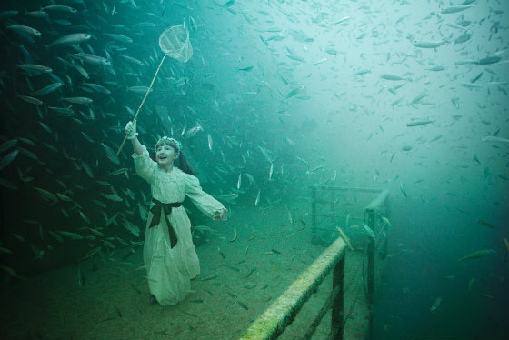 Vandenberg, Life Below the Surface, an exhibition by Andreas Franke