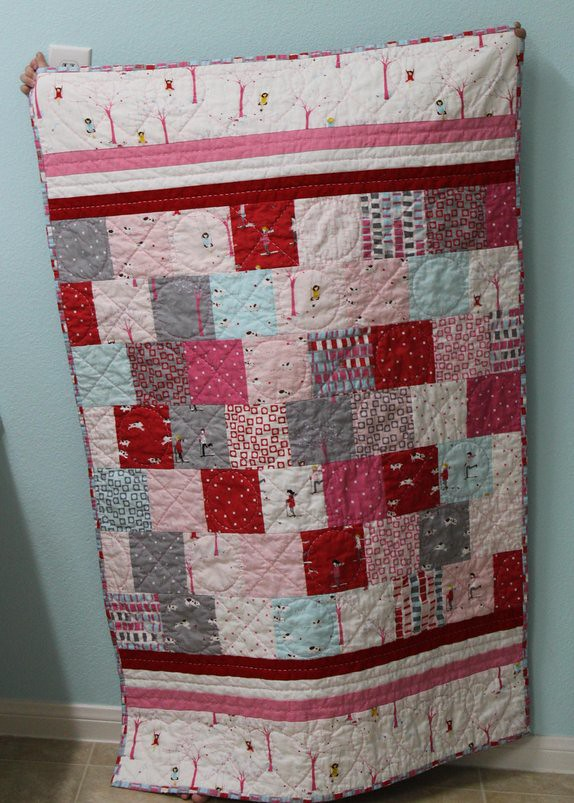 Anna's quilt finished!