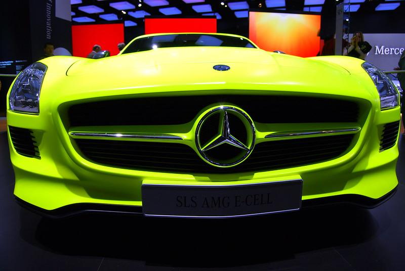 North American international Auto Show, Mercedes SLS AMG