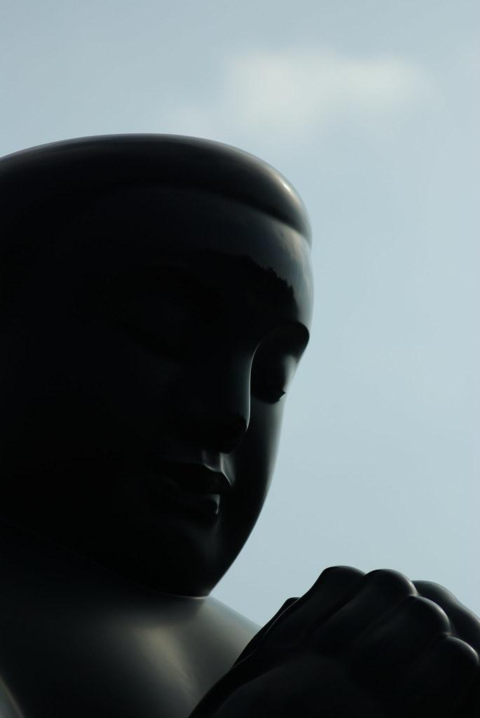CZJ Sonnar 135/3.5 曬太陽喲 ^.^ @ 李真《大氣》大型雕塑展