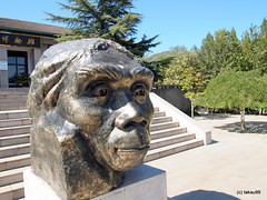 Peking Man Statue