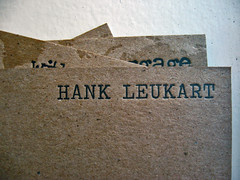Without Baggage Letterpress Cards