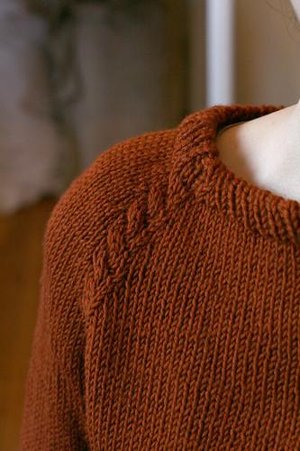 Test Broadcast Sweater, collar