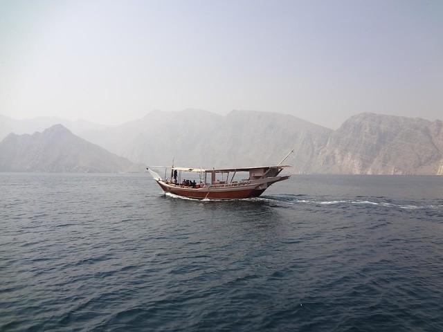 Excursão de barco na Península de Musandam, Omã