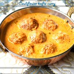 cauliflower kofta curry