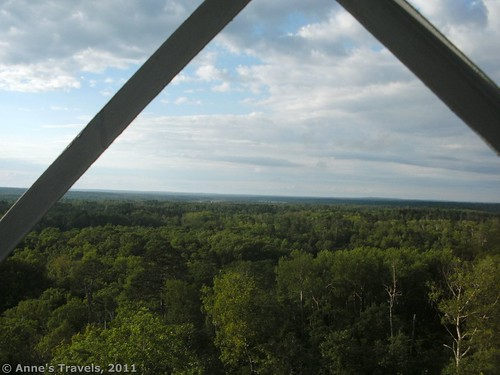 The watchtower at Itasca State Park, Minnesota