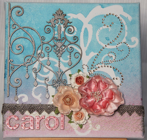 """Carol"" canvas display"