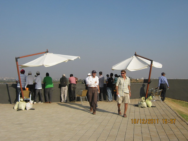 Visitors at the viewing gallery at Kolte-Patil Life Republic, Marunji - Hinjewadi, Pune 411 057