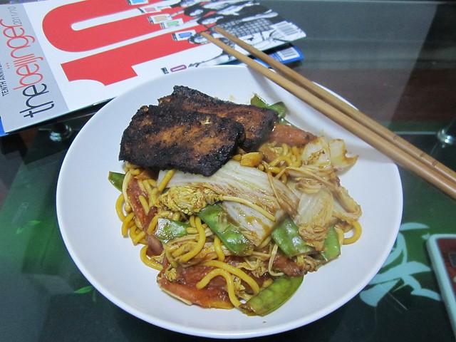 marinated tofu + noodles | Explore yiduiqie's photos on Flic ...
