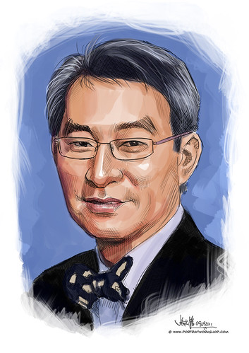 digital portrait of BBM-Teng Heng Chew Eric