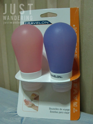 Travelon liquid container