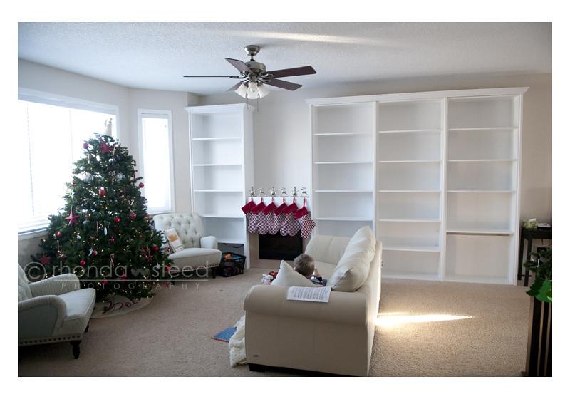 Dec 10: living room... in progress