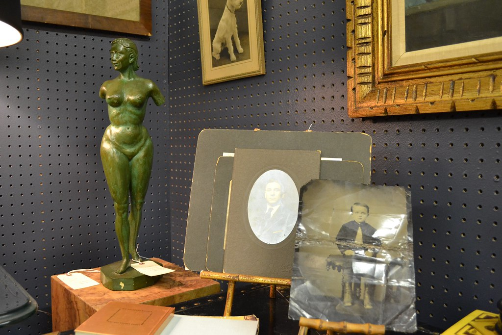 Vintage Photographs and Sculpture @ the STUDY Booth at Broadway Antique Market Chicago