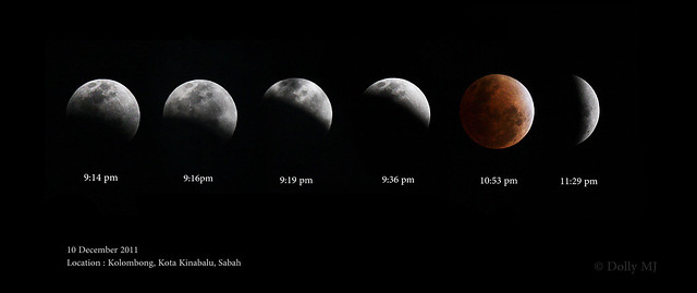 Lunar Eclipse - 10th December 2011