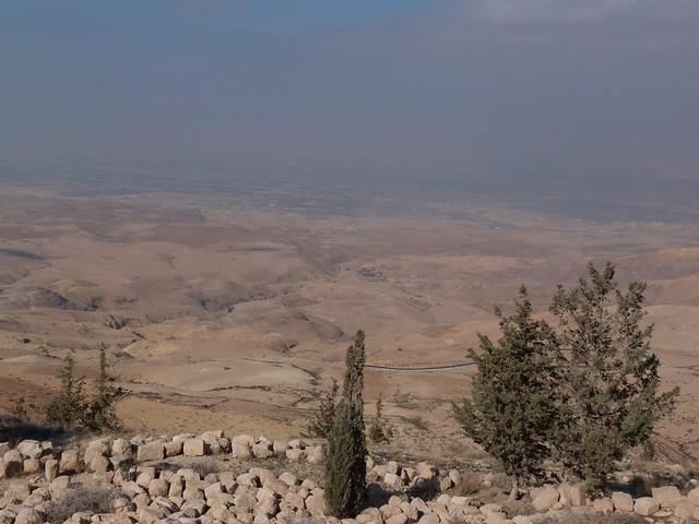 Vistas desde el Monte Nebo (Jordania)