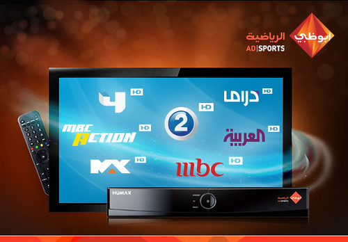 MBC HD channels now open on ADMC sports package (Humax 1020 or Humax