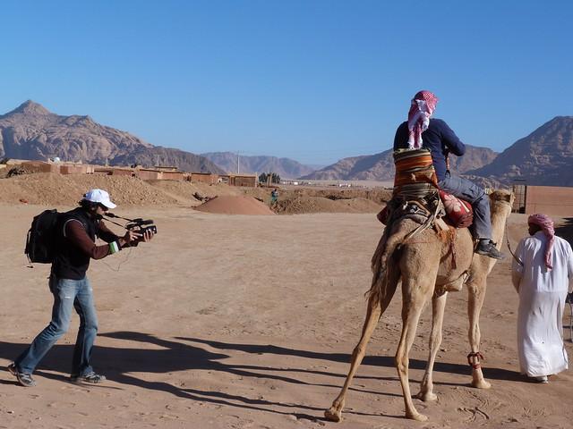 Sele rodando en Jordania
