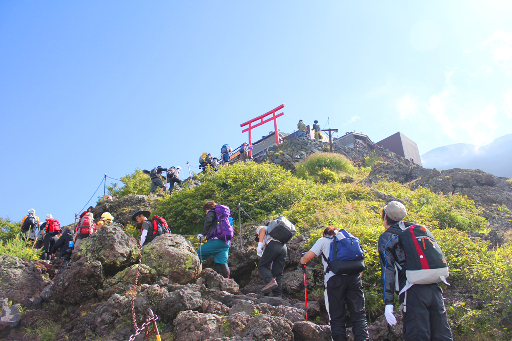 Mt. Fuji experience report (Yoshida route) Part1 (19)