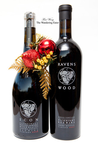 Raven Wood Wines: ICON Mixed Blacks 2008 & Pickberry Red Wine 2007