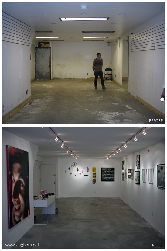 Before & After - Klughaus Gallery Back